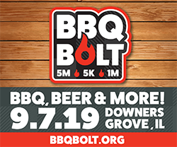 Downers Grove BBQ Bolt Sept 2019