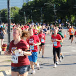 Students, fans and alums from 14 different colleges participated in the BTN Big10K Saturday.