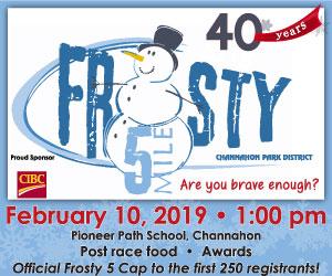 Frosty 5 Mile