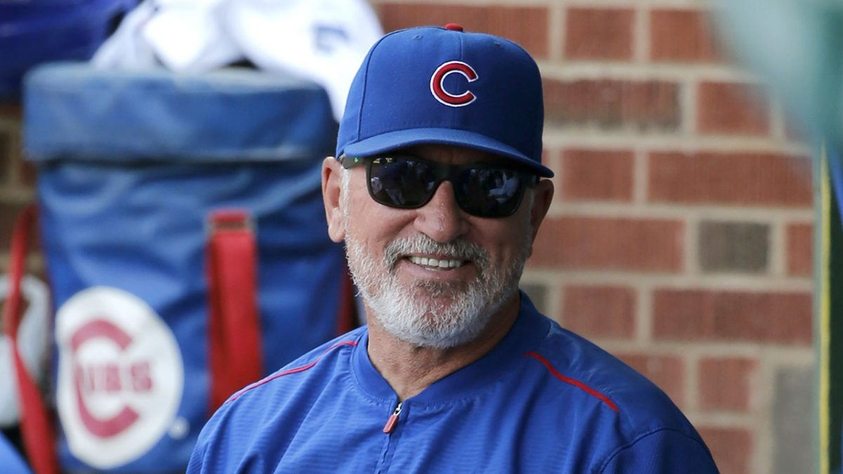 Cubs manager Joe Maddon