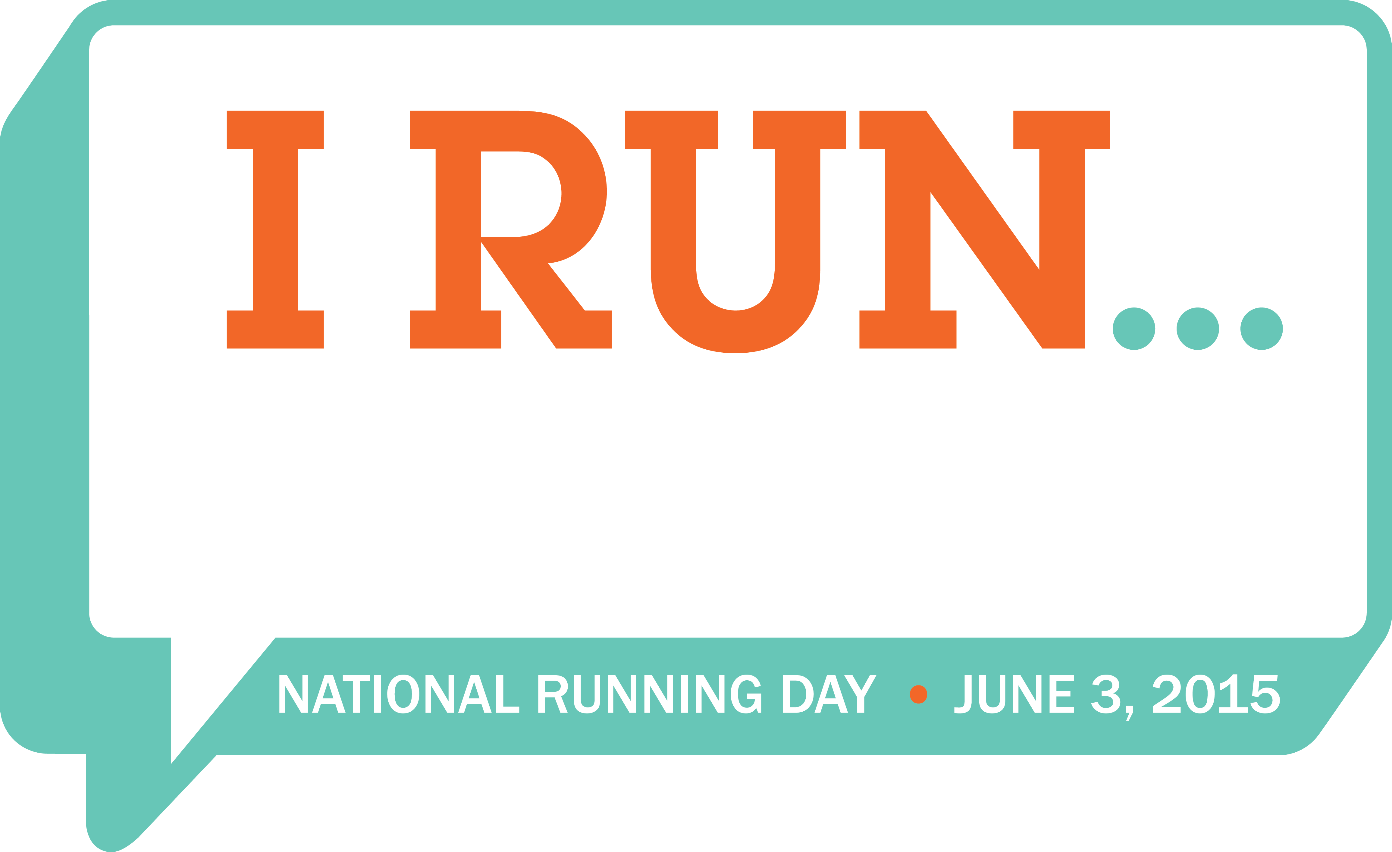 national running day, running, june 3