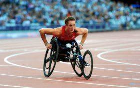 Tatyana McFadden, 2012 London Paralympics Marathon.