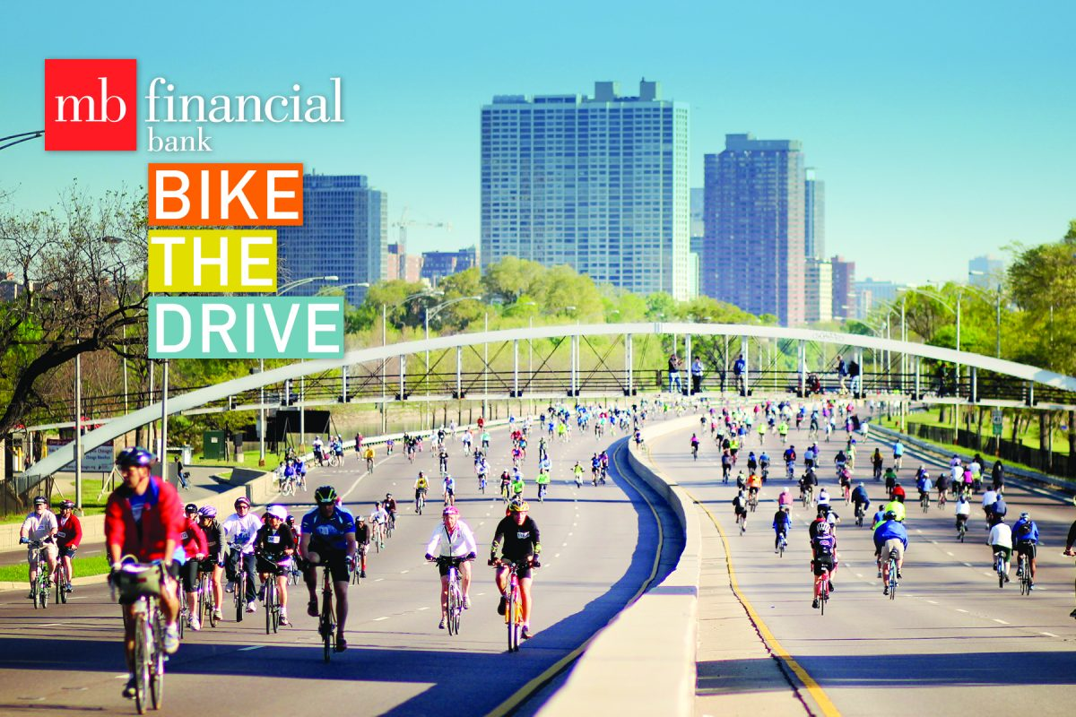 bike the drive, lake shore drive, lsd, urban cycling, car free, north ave bridge, lincoln park, chicago, active trans, active transportation alliance